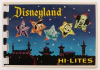 Vintage 1963 Official Disneyland Souvenir Booklet at PristineAuction.com