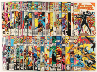 """Lot of (53) """"West Coast Avengers"""" Marvel Comic Books at PristineAuction.com"""