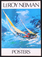 """LeRoy Neiman Signed LE """"LeRoy Neiman Posters"""" Soft-Cover Book (Beckett COA) at PristineAuction.com"""