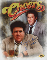 """George Wendt Signed """"Cheers"""" 8x10 Photo Inscribed """"Norm"""" (MAB Hologram) at PristineAuction.com"""