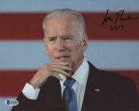 "Joe Biden Signed 8x10 Photo Inscribed ""3 3 19"" (Beckett COA) at PristineAuction.com"