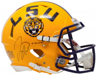 "Joe Burrow Signed LSU Tigers Full Size Authentic On Field Speed Helmet Inscribed ""19 Heisman"" (Fanatics Hologram) at PristineAuction.com"
