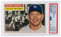 Mickey Mantle 1956 Topps #135 (PSA 4) (MC) at PristineAuction.com