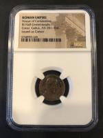 Constantius Gallus - Roman Bronze Coin AD 351-354 (NGC Encapsulated) at PristineAuction.com