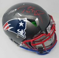 Tom Brady Signed New England Patriots Limited Edition Full-Size Authentic On-Field Hydro-Dipped Speed Helmet with Visor (TriStar Hologram & Steiner Hologram) at PristineAuction.com