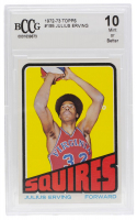 Julius Erving 1972-73 Topps #195 RC (BCCG 10) at PristineAuction.com
