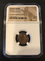 Solanina Roman Bronze Coin AD 253-268 (NGC Encapsulated) at PristineAuction.com