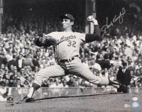 Sandy Koufax Signed Dodgers 16x20 Photo (MLB Hologram & Steiner Hologram) at PristineAuction.com