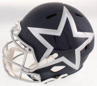 Leighton Vander Esch Signed Cowboys Full-Size AMP Alternate Speed Helmet (Beckett COA) at PristineAuction.com