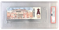 Mike Trout Angels First MLB Game Ticket (PSA 9) at PristineAuction.com
