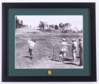 """Bobby Jones """"The Masters"""" 16x19 Custom Framed Photo Display with Masters Pin at PristineAuction.com"""