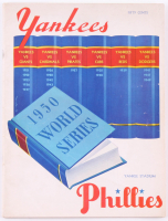 Vintage 1950 World Series Official Program & Scorecard at PristineAuction.com