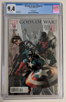 "2016 ""Civil Wars II: Gods of War"" Issue #4 Mike Perkins Variant Marvel Comic Book (CGC 9.4) at PristineAuction.com"