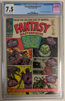 "1966 ""Fantasy Masterpieces"" Issue #1 Marvel Comic Book (CGC 7.5) at PristineAuction.com"