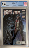 "2015 ""Darth Vader"" Issue #3 Marvel Comic Book (CGC 9.4) at PristineAuction.com"