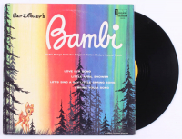 "Vintage 1963 Walt Disney's ""Bambi"" Vinyl LP Record Album at PristineAuction.com"