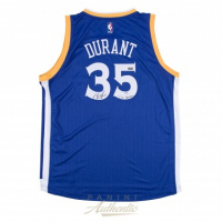 """Kevin Durant Signed LE Warriors Jersey Inscribed """"Dub Nation"""" (Panini COA) at PristineAuction.com"""