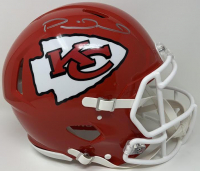 Patrick Mahomes Signed Chiefs Super Bowl LIV Full-Size Authentic On-Field Speed Helmet (Fanatics Hologram) at PristineAuction.com
