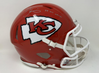 """Tyreek Hill Signed Chiefs Super Bowl LIV Full-Size Authentic On-Field Speed Helmet Inscribed """"SB LIV Champs"""" (Fanatics Hologram) at PristineAuction.com"""