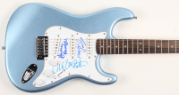 "Scorpions 39"" Electric Guitar Band-Signed by (4) with Klaus Meine, Rudoph Schenker, Uli Jon Roth, & Herman Rarebell (JSA COA) at PristineAuction.com"
