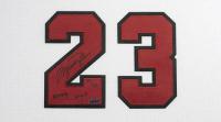 "Michael Jordan Signed Bulls 37.5x45 Custom Framed LE Jersey Inscribed ""2009 HOF"" (UDA COA) at PristineAuction.com"