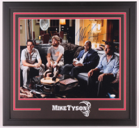 """Mike Tyson Signed """"The Hangover"""" 24x26 Custom Framed Photo Display (JSA COA) at PristineAuction.com"""