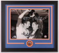 "Jerry Koosman & Tom Seaver Signed Mets 18x20 Custom Framed Photo Display Inscribed ""69 W.S. Champs"" (Beckett LOA) at PristineAuction.com"
