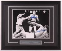 Floyd Patterson & Ingemar Johansson Signed 18x22 Custom Framed Photo Display (Beckett COA) at PristineAuction.com