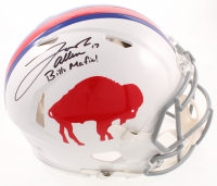 "Josh Allen Signed Bills Full-Size Authentic On-Field Throwback Speed Helmet Inscribed ""Bills Mafia!"" (JSA COA) at PristineAuction.com"