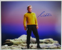 "William Shatner Signed ""Star Trek"" 16x20 Photo (JSA Hologram) at PristineAuction.com"