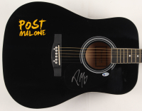 """Post Malone Signed 41"""" Acoustic Guitar (Beckett COA) at PristineAuction.com"""