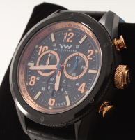 Weil & Harburg Peake Men's Swiss Chronograph Watch at PristineAuction.com