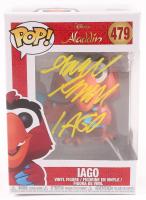 "Gilbert Gottfried Signed ""Aladdin"" - Iago #479 Funko Pop! Vinyl Figure Inscribed ""Iago"" (PA COA) (See Description) at PristineAuction.com"