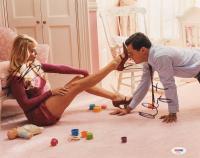 "Leonardo DiCaprio & Margot Robbie Signed ""The Wolf of Wall Street"" 11x14 Photo (PSA Hologram) at PristineAuction.com"