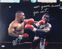 "Mike Tyson Signed 16x20 Photo Inscribed ""I'm Gonna Knock You Out"" (PSA COA) at PristineAuction.com"