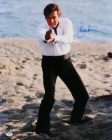 """Roger Moore Signed """"For Your Eyes Only"""" 16x20 Photo (PSA COA) at PristineAuction.com"""