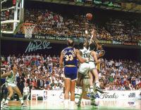 Magic Johnson Signed Lakers 11x14 Photo (PSA COA) at PristineAuction.com
