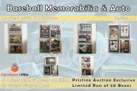 Cardboard Hits Baseball Memorabilia and Auto Mystery Box (9 Auto or Relic Cards per Box) at PristineAuction.com