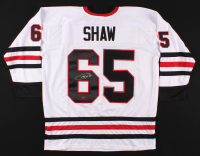 Andrew Shaw Signed Jersey (YSMS COA) at PristineAuction.com