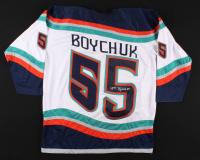 Johnny Boychuk Signed Jersey (Boychuk COA) at PristineAuction.com