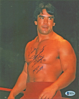 "Ricky Steamboat Signed 8x10 Photo Inscribed ""The Dragon"" & ""HOF 2009 "" (Beckett COA) at PristineAuction.com"