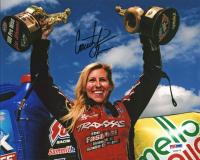 Courtney Force Signed 8x10 Photo (PSA COA) at PristineAuction.com