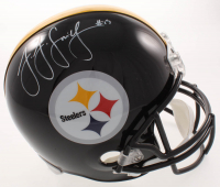 JuJu Smith-Schuster Signed Steelers Full-Size Helmet (TSE COA) at PristineAuction.com