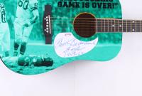 "Chuck Bednarik Signed 39"" Huntington Acoustic Guitar Inscribed ""Eagle 1949-62"" (PSA COA) at PristineAuction.com"