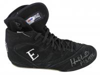 Evander Holyfield Signed Everlast Boxing Shoe (PSA COA) at PristineAuction.com