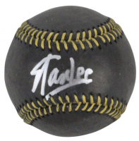 Stan Lee Signed Black Leather OML Baseball (PSA COA) at PristineAuction.com