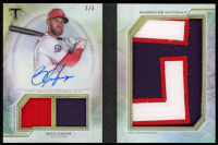 Bryce Harper 2018 Topps Triple Threads Jumbo Plus Autograph Relics #JPABH at PristineAuction.com