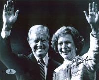 Jimmy Carter & Rosalyn Carter Signed 8x10 Photo (Beckett COA) at PristineAuction.com