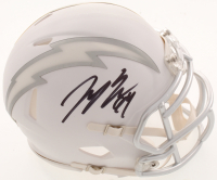 Joey Bosa Signed Chargers White ICE Speed Mini-Helmet (Beckett COA) at PristineAuction.com