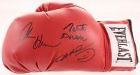 Sugar Ray Leonard, Tommy Hearns & Roberto Duran Signed Everlast Boxing Glove (Beckett COA) at PristineAuction.com